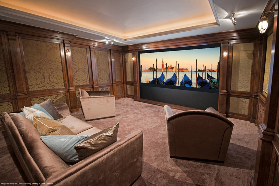 Five Must-Haves for Your Custom Home Theater