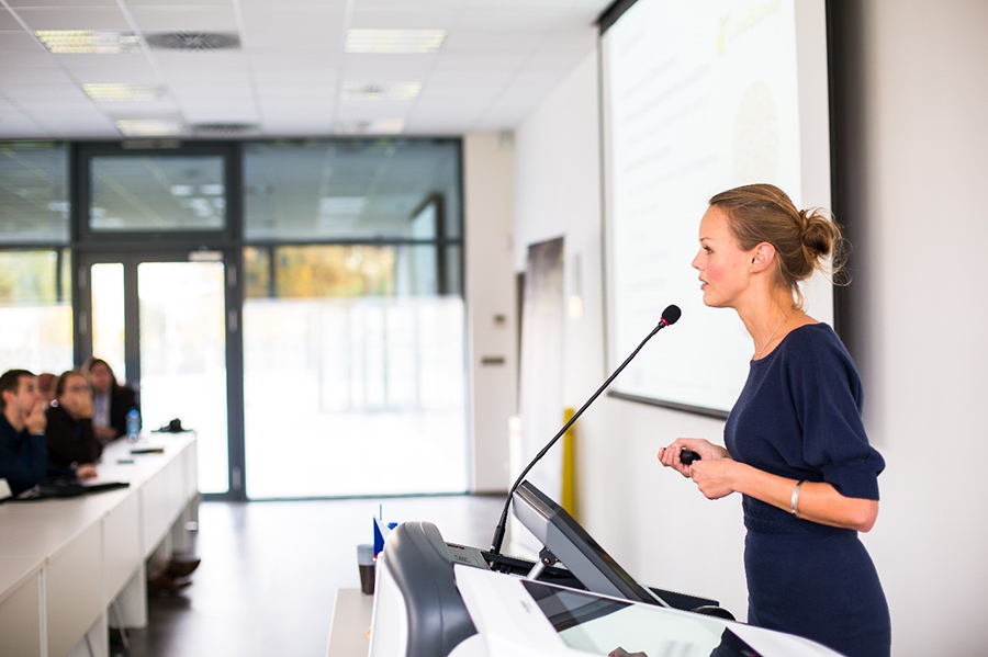 Give an Effective Presentation with Commercial Audio Video